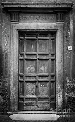 Rome Photograph - Oratorium by Inge Johnsson