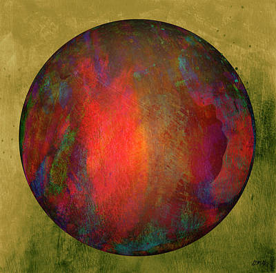 Digital Art - Orb Number Two by David Gordon