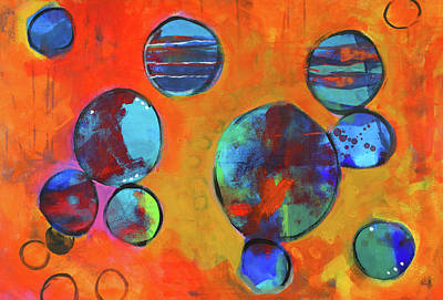 Painting - Orbita by Nancy Merkle