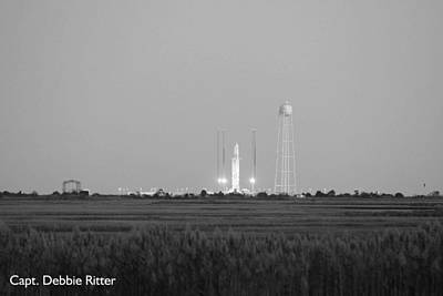 Photograph - Orbital Sciences Corporation Antares Rocket by Captain Debbie Ritter