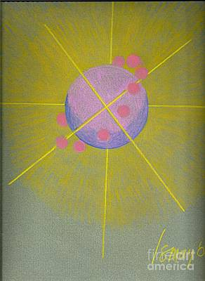 Painting - Orbs And Sphere by Rod Ismay
