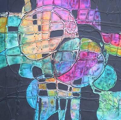 Painting - Orbs by Nancy Jolley