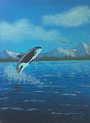 Painting - Orca by Brenda Bonfield