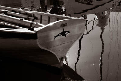 Photograph - Orca Skiff by Mark Alan Perry
