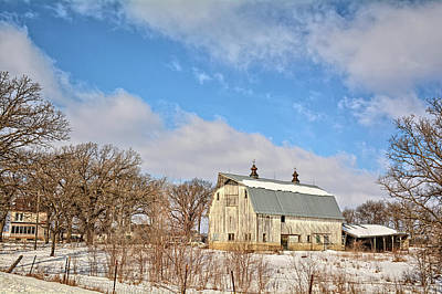 Photograph - Orchard Barn 2 by Bonfire Photography