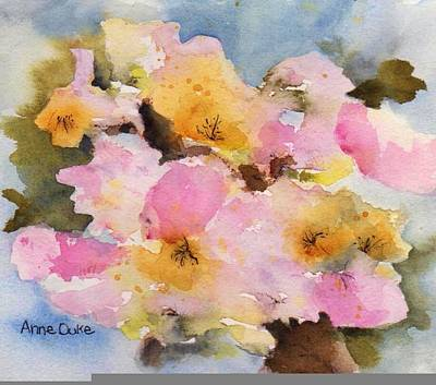 Painting - Orchard Blossom by Anne Duke
