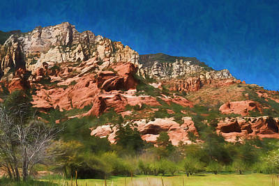 Photograph - Orchard Meadow At Slide Rock Park by Bonnie Follett