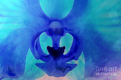 Floral Digital Art Digital Art - Orchid Blessing by Krissy Katsimbras