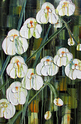Painting - Orchid Dance by Diane Dean
