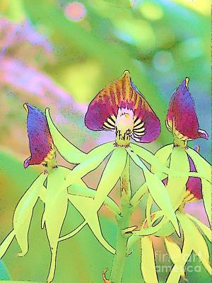 Photograph - Orchid Dance by Lisa Dunn