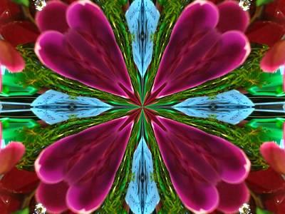 Digital Art - Orchid Frenzy by Max DeBeeson