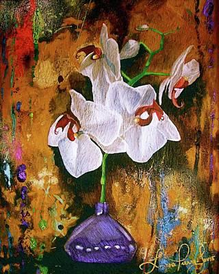 Orchid Ho Original by Laura Pierre-Louis