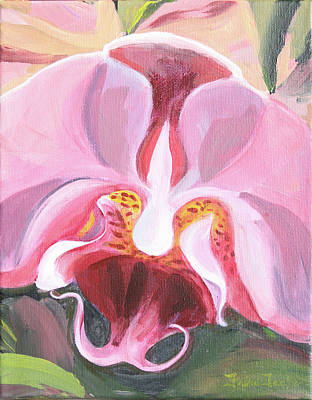 Painting - Orchid I by Trina Teele