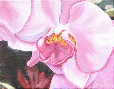 Painting - Orchid II by Trina Teele