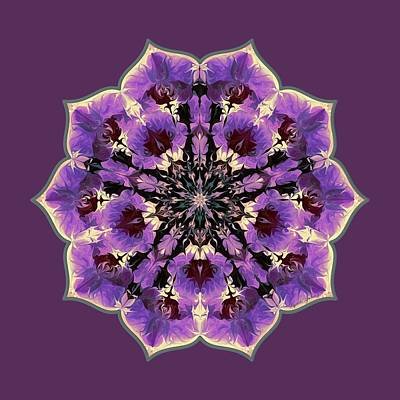 Digital Art - Orchid Lotus by Lynde Young