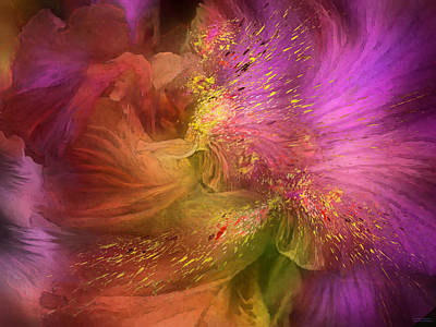 Mixed Media - Orchid Moods 2 by Carol Cavalaris