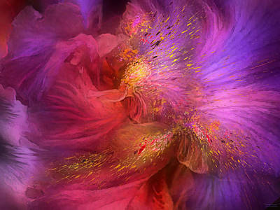 Mixed Media - Orchid Moods by Carol Cavalaris