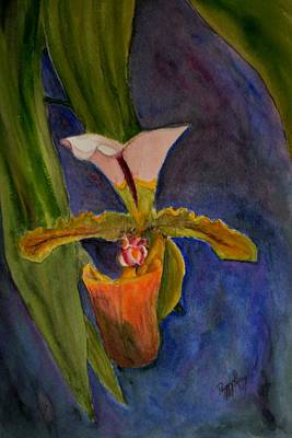 Painting - Orchid by Peggy King