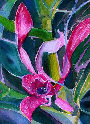 Painting - Orchid Pinks by Mindy Newman