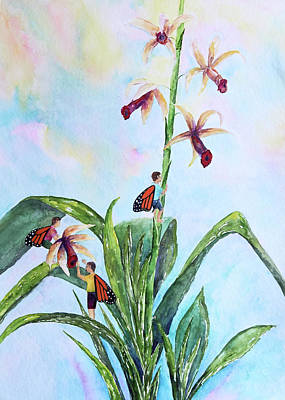 Painting - Orchid Thieves by Patricia Beebe