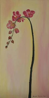 Painting - Orchide In Pink by Marinella Owens