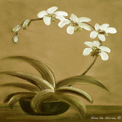 Painting - Orchids 3 by Gina De Gorna