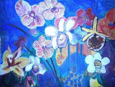 Orchids In My Dream Art Print