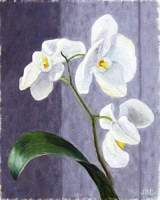 Painting - Orchids by Jean Ehler