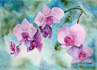 Painting - Orchids by Melanie Pruitt