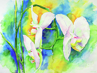 Wall Art - Painting - Orchids P1 by Svetlana Titarenko