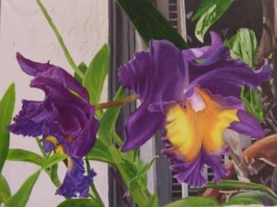 Orchids Art Print by Robert Silvera