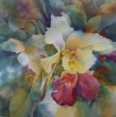 Painting - Orchidstrated by Tara Moorman