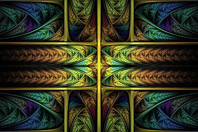 Apo Digital Art - Order Out Of Chaos by Lyle Hatch