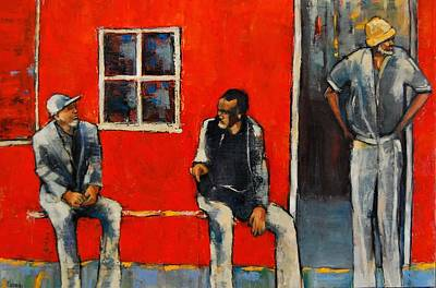 Painting - Ordinary Men by Jean Cormier