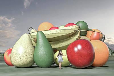 Surrealism Digital Art - Ordinary Still Life by Betsy Knapp by Betsy Knapp