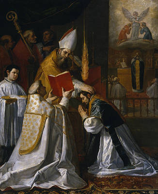 Painting - Ordination And First Mass Of Saint John Of Mata by Vincenzo Carducci