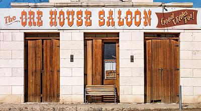 Photograph - Ore House Saloon by Leland D Howard