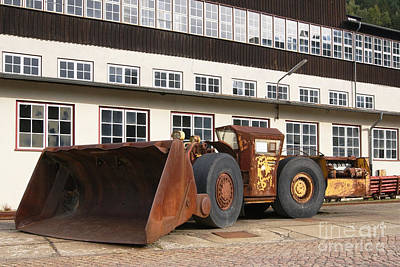 Photograph - Ore Mining Wheel Loader by Rudi Prott