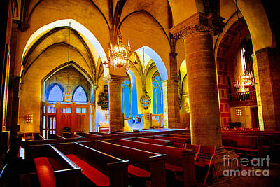 Photograph - Orebro Cathedral by Rick Bragan