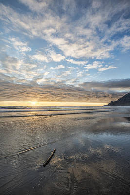 Photograph - Oregon Beach by Jon Glaser