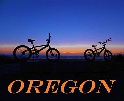 Photograph - Oregon Bikes 2 by Gallery Of Hope