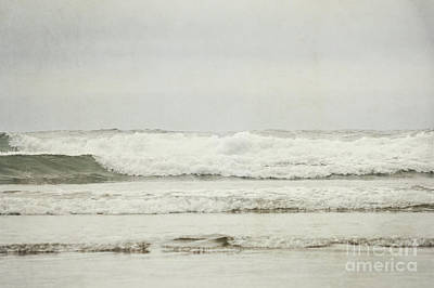 Photograph - Oregon Calm Ocean Waves Landscape by Andrea Hazel Ihlefeld
