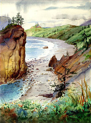 Painting - Oregon Coast #3 by John Norman Stewart
