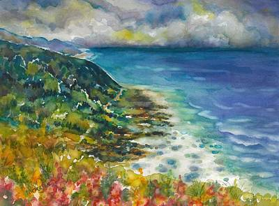 Painting - Oregon Coast by Ann Nicholson