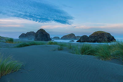 Photograph - Oregon Coast At Sunrise by Jonathan Nguyen