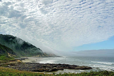 Photograph - Oregon Coast Cape Perpetua 7 by Jeff Brunton