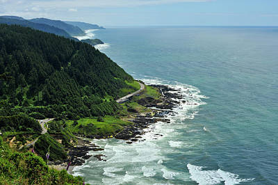 Photograph - Oregon Coast by Crystal Hoeveler