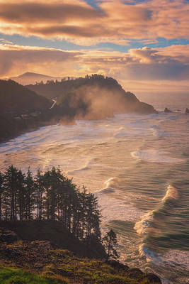 Photograph - Oregon Coast Mist by Darren White