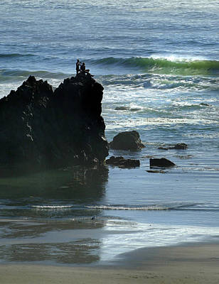 Photograph - Oregon Coast Near Newport 5 by Jeff Brunton