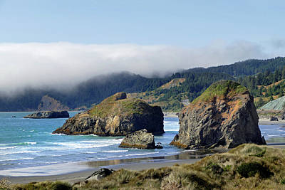 Photograph - Oregon Coast Brookings 4 by Jeff Brunton